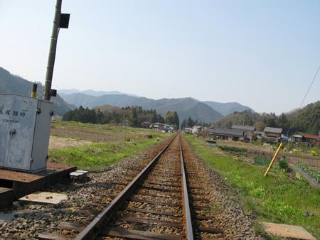 茶色い線路